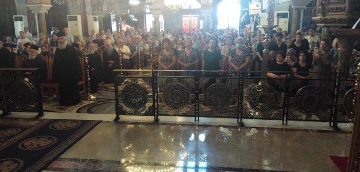 Πένθιμα ήχησαν οι καμπάνες στο Αγρίνιο – Παράκληση για την μετατροπή της Αγίας Σοφίας σε τζαμί (ΔΕΙΤΕ ΦΩΤΟ)