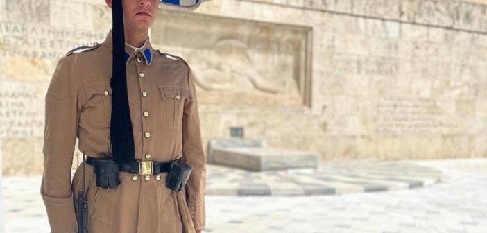 Ομογενής με καταγωγή από το Μεσολόγγι ήρθε από τις ΗΠΑ για να υπηρετήσει στην Προεδρική Φρουρά! (ΔΕΙΤΕ ΦΩΤΟ)