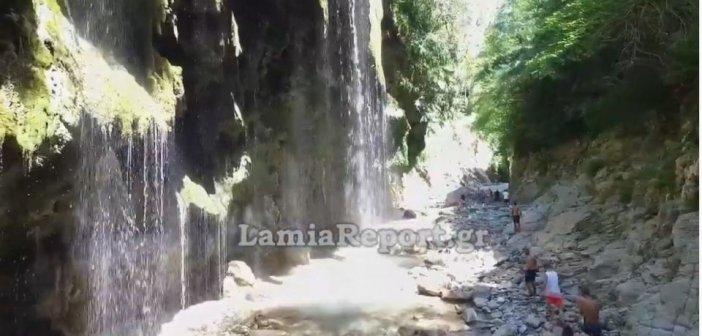 Μαγικές εικόνες από το φαράγγι «Πάντα Βρέχει» (βίντεο)