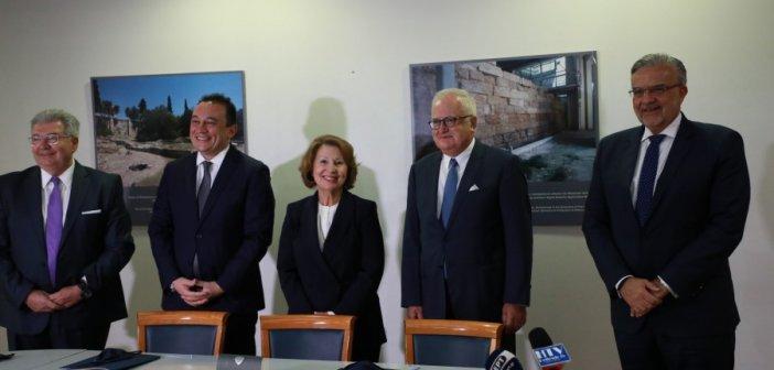 Μνημόνιο Συνεργασίας για τις Επετειακές Δράσεις 1821-2021 μεταξύ Γενικής Γραμματείας Αποδήμου Ελληνισμού και Τράπεζας Πειραιώς