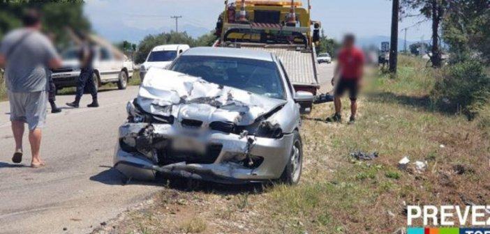 Πρέβεζα: Τροχαίο δυστύχημα – Ένας νεκρός! (ΔΕΙΤΕ ΦΩΤΟ)