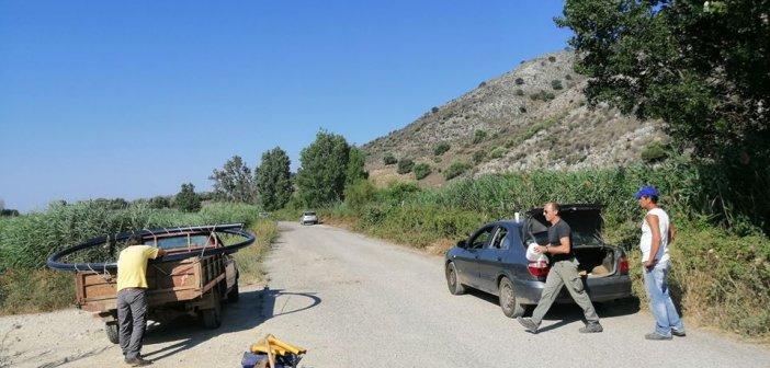 Αποκατάσταση υδροδότησης στον οικισμό Βαλτί του δήμου Ξηρομερου (ΔΕΙΤΕ ΦΩΤΟ)