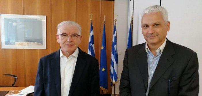 Περιφέρεια Δυτικής Ελλάδας: Επίσκεψη Φωκίωνα Ζαΐμη στον πρόεδρο του ΕΛΓΑ