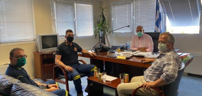 Σε επιφυλακή η Περιφέρεια Δυτικής Ελλάδας για το ενδεχόμενο πυρκαγιών – Διαρκής συνεργασία με την Πυροσβεστική