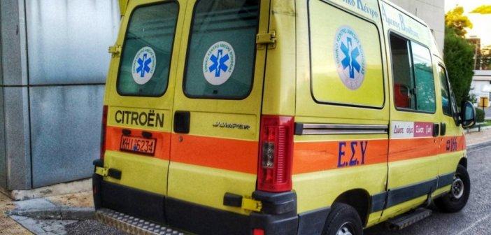 Φωτιά στην Αχαΐα: Ερπυστριοφόρο όχημα έπεσε πάνω σε άντρα που βοηθούσε στην κατάσβεση