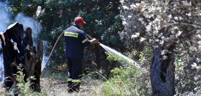 Θέρμο: Σύλληψη και διοικητικό πρόστιμο για φωτιά εντός κατοικημένης περιοχής – Μεγάλη η κινητοποίηση της Π.Υ.