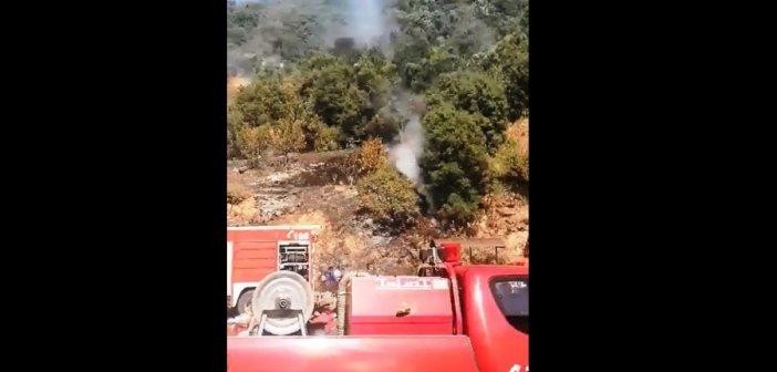 Μεσολόγγι: Υπό έλεγχο η φωτιά στα Φραγκουλέικα – Δείτε βίντεο του sinidisi.gr
