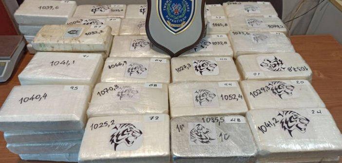 Πάτρα: Κοκαίνη 100 κιλών, άνω των 3.000.000 ευρώ κατασχέθηκε στο Λιμάνι (ΦΩΤΟ)