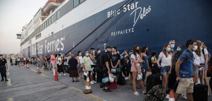 Ακτοπλοΐα: Αυξήθηκε ο μέγιστος επιτρεπόμενος αριθμός επιβατών