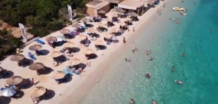 Η ομορφότερη παραλία της Αιτωλοακαρνανίας (VIDEO)
