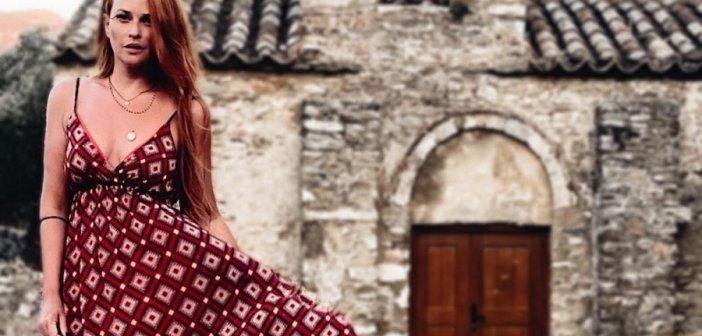 Σίσσυ Χρηστίδου: Από τις Κυκλάδες στα Επτάνησα! Οι ανέμελες στιγμές στην Κέρκυρα (ΦΩΤΟ)