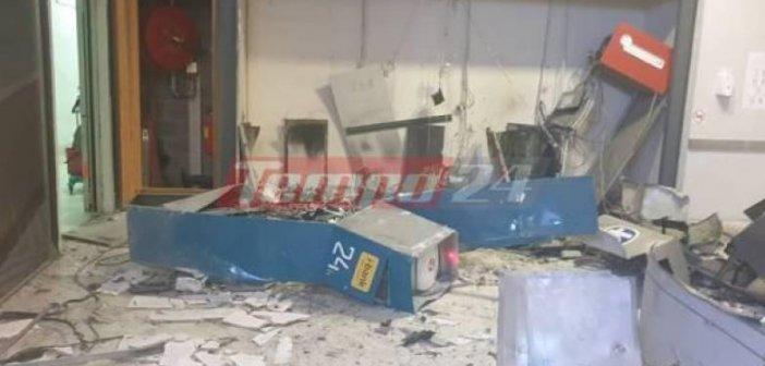 """Πάτρα: """"Άρωμα"""" τρομοκρατίας στην ανατίναξη τριών ΑΤΜ σε Σούπερ Μάρκετ – Άφησαν πίσω πάνω από 50 χιλιάδες ευρώ (ΦΩΤΟ + VIDEO)"""