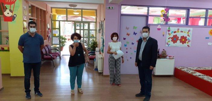 Επίσκεψη δημάρχου Αγρινίου στον 6ο Παιδικό Σταθμό (ΦΩΤΟ)