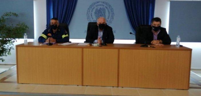 Έκτακτη συνεδρίαση του Συντονιστικού Οργάνου Πολιτικής Προστασίας του Δήμου Μεσολογγίου