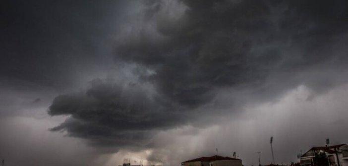 Βροχές και καταιγίδες στην Αιτωλοακαρνανία μέχρι και την Τρίτη