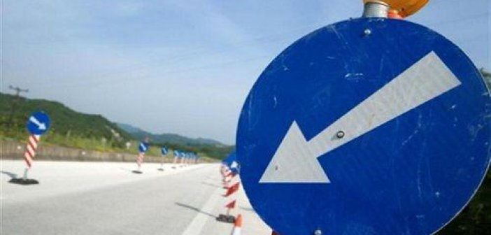 Κυκλοφοριακές ρυθμίσεις λόγω εργασιών στην Ιόνια Οδό και στην Επαρχιακή Οδό Γέφυρα Αχελώου (Στράτος) – Εμπεσού – Άρτας