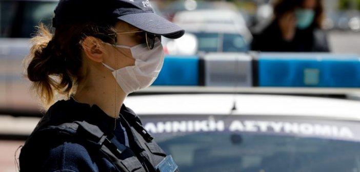 Δέκα πρόστιμα για μη χρήση μάσκας στη Δυτική Ελλάδα