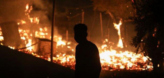 Φωτιές Μόρια: Μέσω facebook «συνεννοήθηκαν» οι υποκινητές –Οι κλειστές ομάδες