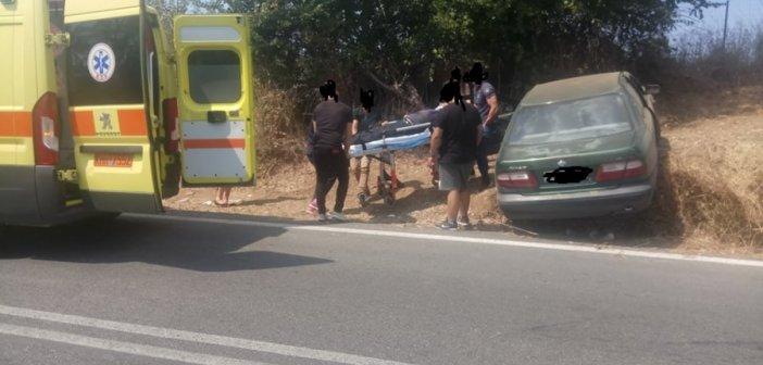 Αμπάρια Παναιτωλίου : Στο νοσοκομείο ένα άτομο μετά από εκτροπή οχήματος (ΔΕΙΤΕ ΦΩΤΟ)