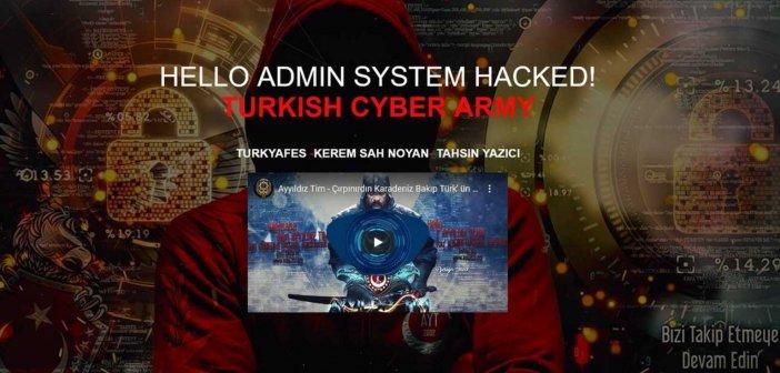 """Τούρκοι χάκερς """"χτύπησαν"""" την ιστοσελίδα του ΥΠΕΚΑ – Το video της επίθεσης"""