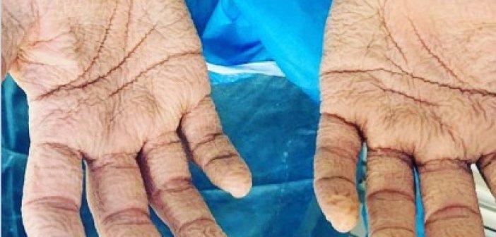 Κορονοϊός – Η φωτογραφία που συγκλονίζει: Βαθιά υπόκλιση στους νοσηλευτές του ΕΟΔΥ