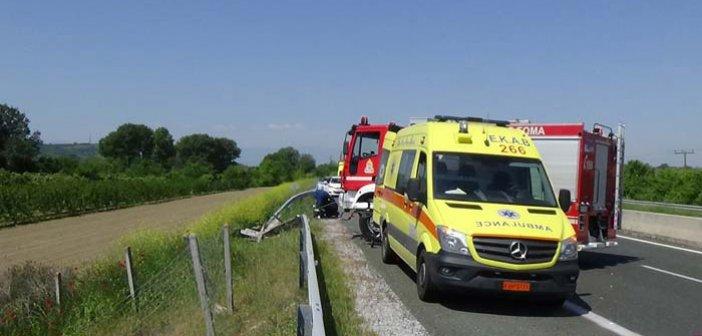 Στο Νοσοκομείο Αγρινιού οδηγός μετά από τροχαίο στον επαρχιακό δρόμο Αστακού – Μύτικα