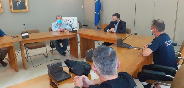 Σύσκεψη στο Δημαρχείο Αγρινίου με τους υγειονομικούς φορείς της πόλης (ΦΩΤΟ)