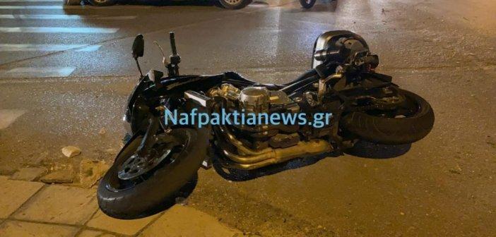 Ναυπακτος: Τροχαίο ατύχημα με τραυματισμό στην Λαγκαδούλα