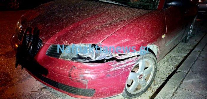 Ναύπακτος: Δύο τροχαία την ίδια ώρα στην Λαγκαδούλα χθες βράδυ