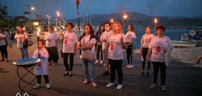 Με εξαιρετική επιτυχία το Σάββατο στον Αστακό, η Λαμπαδηδρομία των Εθελοντών Αιμοδοτών(ΦΩΤΟ)