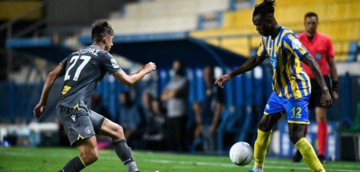 Παναιτωλικός – Αστέρας Τρίπολης 1-1: Το… έσωσε με τον Αριγίμπι!