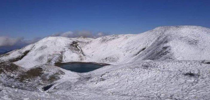 Επεσαν τα πρώτα χιόνια στην Ήπειρο