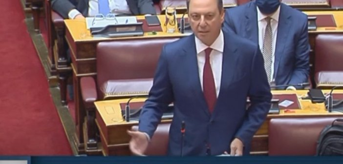 Ομιλία Σπ.Λιβανού στο νομοσχέδιο για τη νομιμοποίηση εσόδων από εγκληματικές ενέργειες και τη χρηματοδότηση της τρομοκρατίας