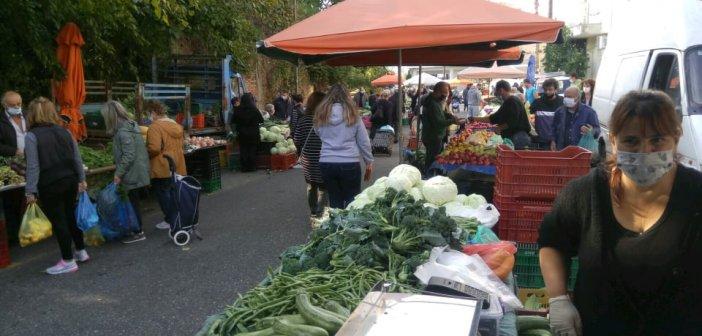 Λαϊκές Αγορές Αγρινίου: «Προβλεπόμενοι» οι παραγωγοί όχι όμως και οι καταναλωτές