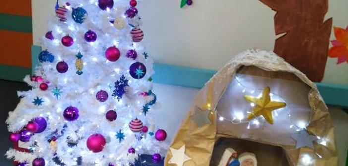 Λευκάδα: Η Χριστουγεννιάτικη παιδιατρική κλινική του νοσοκομείου