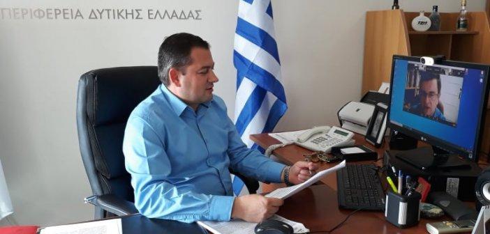 Διαδικτυακή διημερίδα με τη συμμετοχή του Αντιπεριφερειάρχη Αγροτικής Ανάπτυξης Θ. Βασιλόπουλου