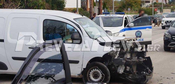 Πρέβεζα: Σφοδρή σύγκρουση οχημάτων – Ευτυχώς ελαφρά τραυματίστηκαν δύο παιδιά