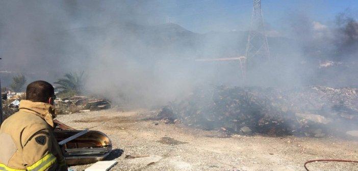 Πυρκαγιά ξέσπασε στην Δάφνη Ναυπακτίας (Φωτο-Video)