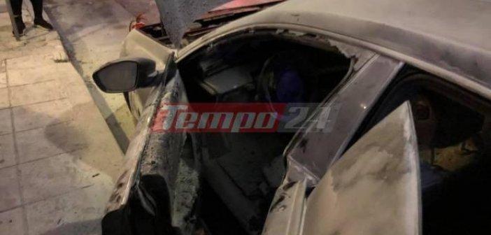Δυτική Ελλάδα: Επίθεση με μολότοφ στο αυτοκίνητο του βουλευτή Ιάσονα Φωτήλα (ΦΩΤΟ)
