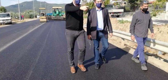 Αιτωλοακαρνανία: Ο Ν.Φαρμάκης σε οδικά έργα – Ολοκληρώνεται η πρώτη φάση του οδικού τμήματος Διασελλάκι-Πέρκος(ΔΕΙΤΕ ΦΩΤΟ)