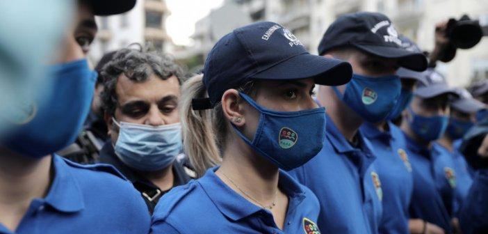 Οι αστυνομικοί με τα γαλάζια μπλουζάκια – Η νέα ομάδα ΟΔΟΣ της ΕΛ.ΑΣ.