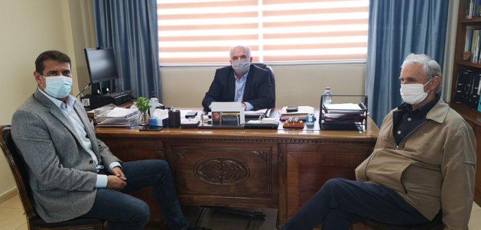 Τον Κώστα Λύρο επισκέφθηκε ο Δήμαρχος Αμφιλοχίας Γιώργος Κατσούλας