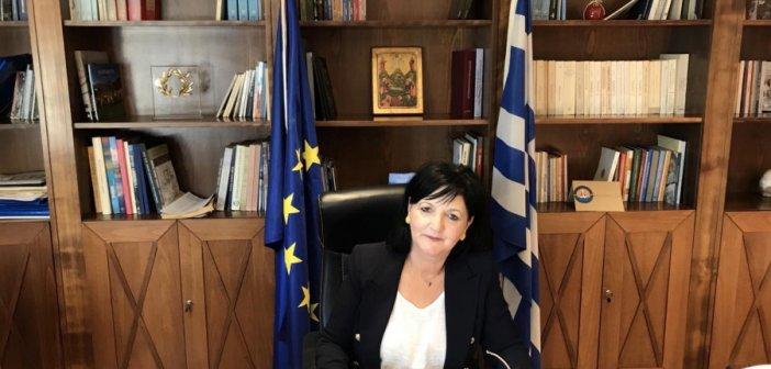 Απολύμανση και τεστ για COVID 19 στο Τμήμα Αγροτικής Οικονομίας στο Αγρίνιο παρουσία, της Αντιπεριφερειάρχη Μαρίας Σαλμά