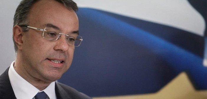 Σταϊκούρας: Αποζημιώσεις 800 ευρώ και τον Δεκέμβριο αν χρειαστεί