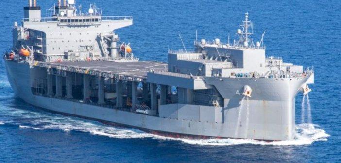 ΚΚΕ: «Να πάρει πόδι το αμερικανοΝΑΤΟϊκό πλοίο από το λιμάνι του Πλατυγιαλίου»