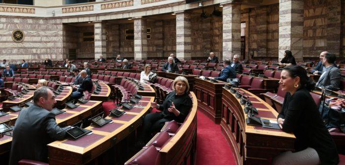 Eυρύτατη στήριξη από ΝΔ, ΣΥΡΙΖΑ, ΚΙΝΑΛ, στη διακρατική συμφωνία για τον EastMed