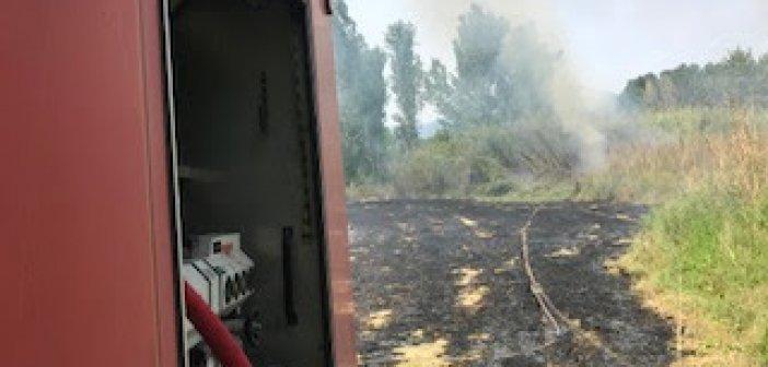 Κινητοποίηση της Π.Υ για φωτιά στα Αμπάρια Παναιτωλίου (ΦΩΤΟ)