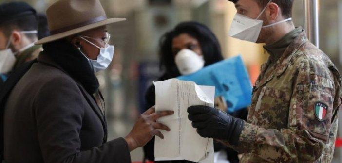 Κορωνοϊός – Ιταλία: Μείωση κρουσμάτων με σταθερό τον αριθμό των νεκρών