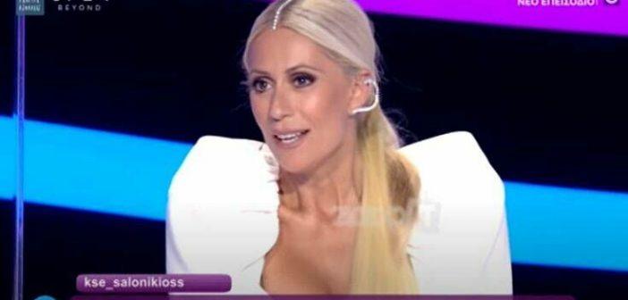 J2US: Η Μαρία Μπακοδήμου πάλι μαγνήτισε τα βλέμματα με την ενδυματολογική της επιλογή