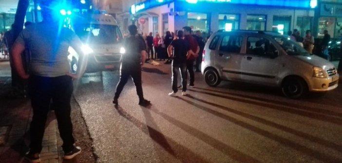 Αγρίνιο: Τροχαίο στο κέντρο της πόλης με τραυματισμό δικυκλιστή (ΦΩΤΟ)